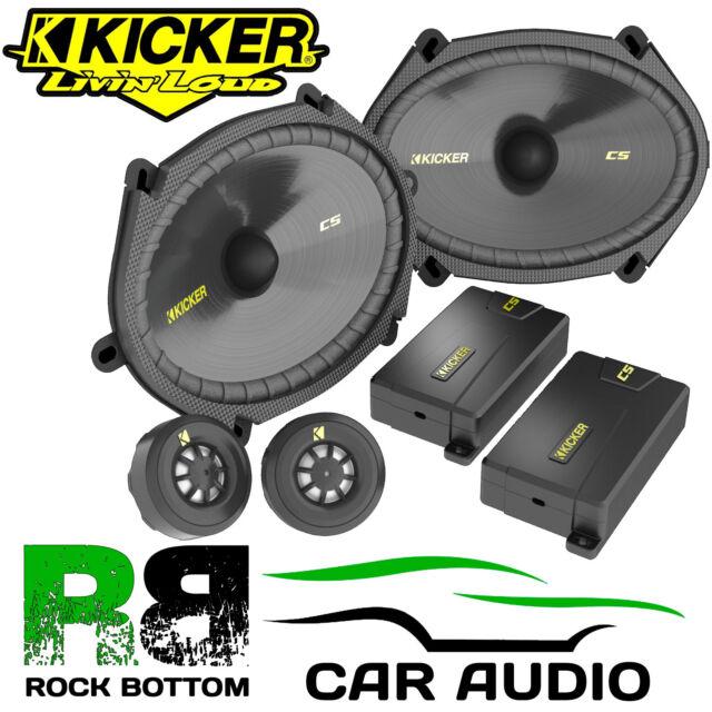 "Ford Transit MK5 Kicker 6x8"" 225 Watts Component Kit Front Door Car Van Speakers"