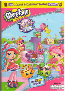 Image Is Loading SHOPKINS WORLD VACATION DVD 2017 NEW WITH SLEEVE