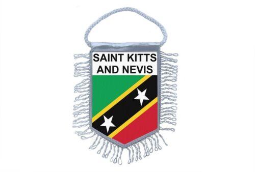 Wimpel fussballwimpel mini flagge fahne flaggen miniflagge st kitts nevis