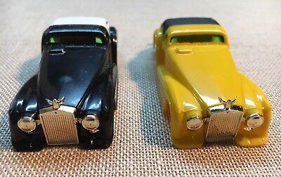 BRAND NEW OLD STOCK SET of 10 AURORA Original AFX HO SLOT CAR RESCUE VAN BODIES