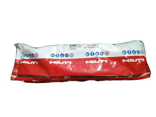(1) Hilti HIT-HY 200-R #2022793 Injectable epoxy. Exp 08/31/21