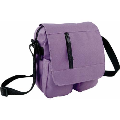 Multi-pocket 4 colors options Shoulder bag Cross body strap.