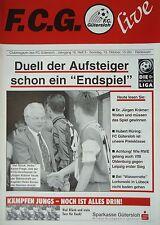 Programm 1996/97 FC Gütersloh - VfB Oldenburg