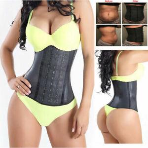 Fajas Colombianas Reductoras Abdomen Shaperwear Body Shaper Latex Waist Trainer