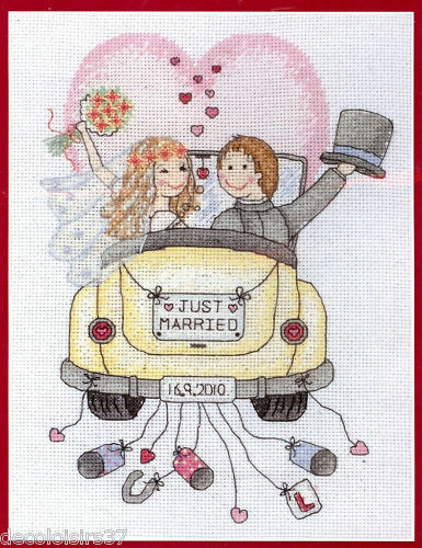 Anchor ACS15 Marriage Just Married Kit counted