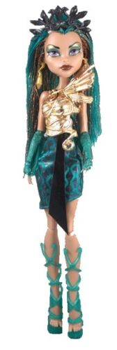 Monster High Boo York Boo York Nefera de Nile mild package damage
