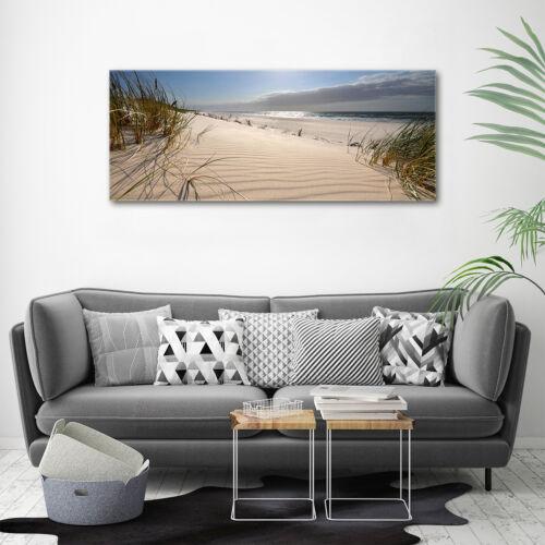 Glas-Bild Wandbilder Druck auf Glas 125x50 Deko Landschaften Ostsee Strand