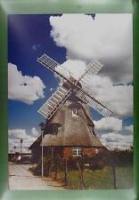 CPA Germany Mecklenburg Windmühle Windmill Moulin a Vent Molin Hotel Wiatrak w83