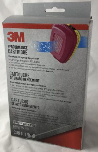 3M 60923 Organic Vapor Acid Gas Replacement Respirator Cartridge Filter 1 Pair