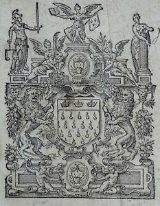 LYON-MARQUE-TYPOGRAPHIQUE-Printers-039-Mark-Veuve-Antoine-DE-HARSY-1614