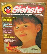 Siehste 18/1979 Kinder Fernseh Zeitschrift