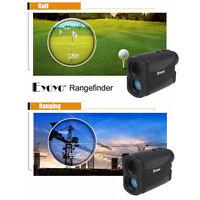 Black 6x Range Finder Pocket Flag Scope Pinseeker Golf Yard Distance Measure