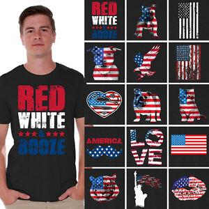 USA-Shirt-USA-Flag-Tshirt-Black-American-flag-T-shirt-Gifts-for-4th-of-July