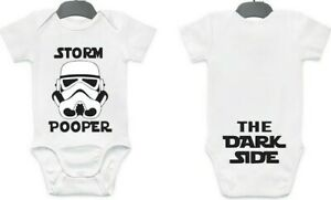 Storm Pooper 0-12 month baby onesieonesie from StarWars onepiece trooperbodysuit