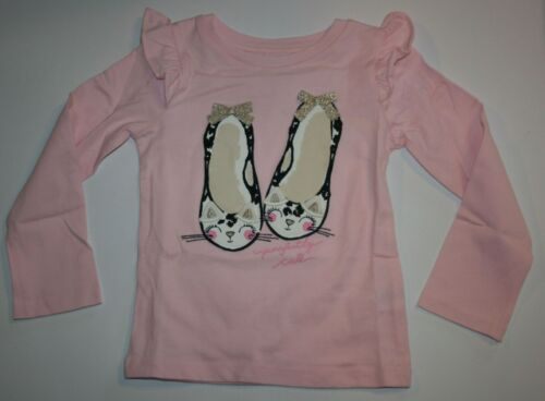New Gymboree Pink Purrfectly Cute Ballerina Tee Top NWT 18-24M 2T 3T 4T Catastic