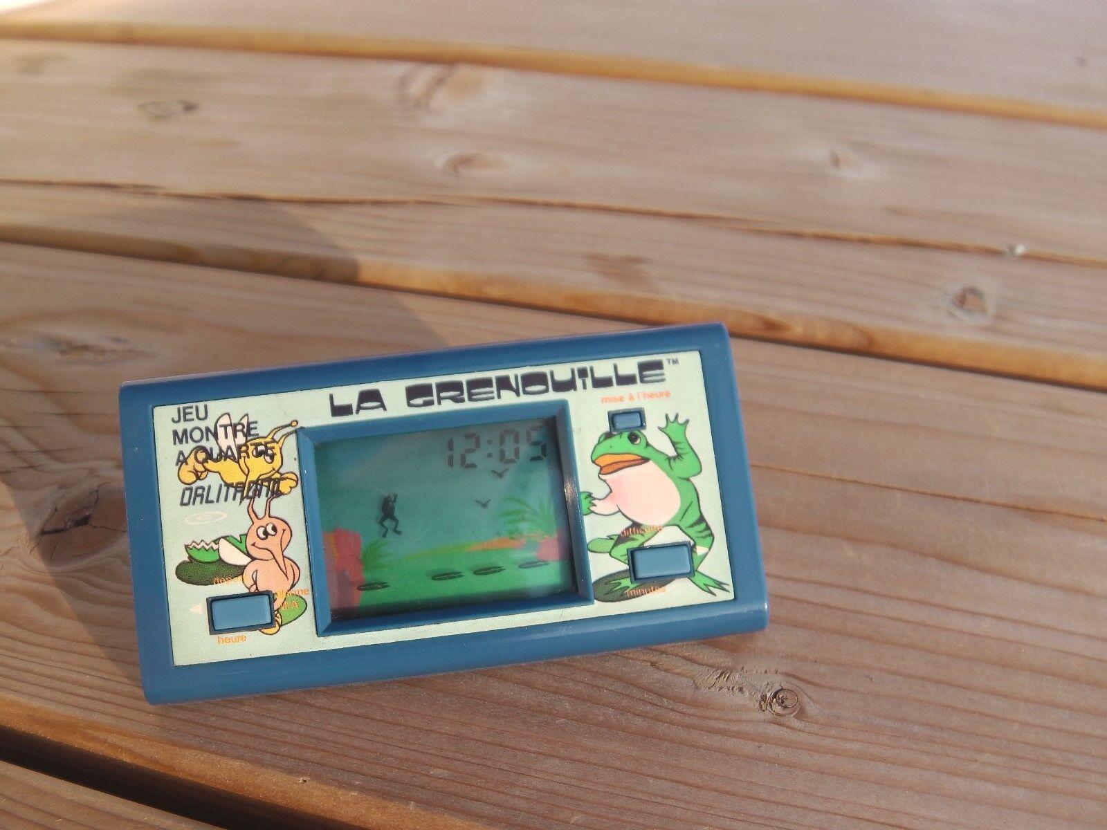 Lcd game pocket Orlitronic Tiger   La grenouille   1984 game watch