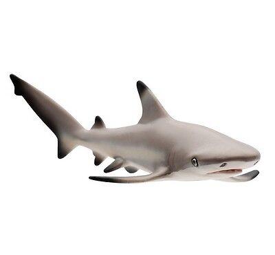 Safari Ltd 200029 Black Tip Reef Shark 5 1//8in Series Water Creature