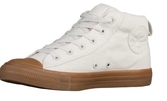 NEW CONVERSE ALL STAR STREET MID scarpe da ginnastica scarpe donna 12 MENS 10 155707C BUFF