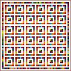 """SQUARESVILLE - 95"""" - Pre-cut Quilt Kit by Quilt-Addicts King size"""