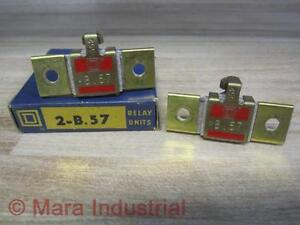 Square-D-B-57-Thermal-Overload-Relay-Unit-Pack-of-2