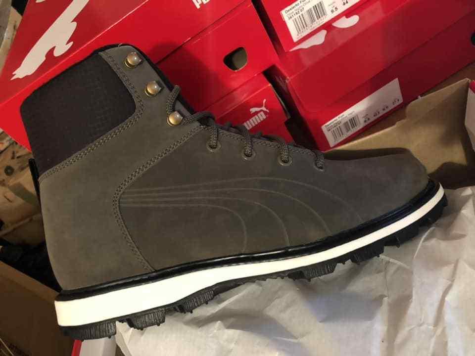 Puma DESIERTO Fun Winter Boots Olive Night Brand New