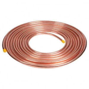 3-8-034-OD-x-50-Feet-Copper-Refrigeration-Tubing-Coil-AC-MADE-IN-USA