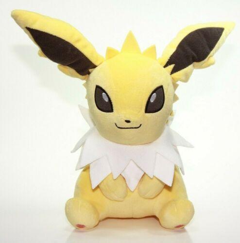 Pokemon Jolteon Plush Doll Sun /& Moon Banpresto Stuffed Animal 10 Inches Big