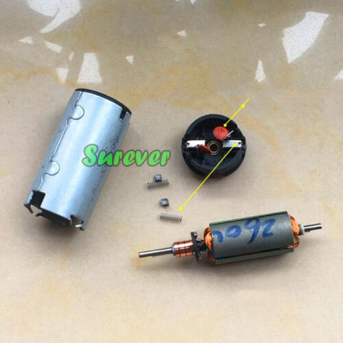 DC 12V 24V 6800RPM Mini 24MM Motor Double D Shaped Dual Shaft Electric Curtain