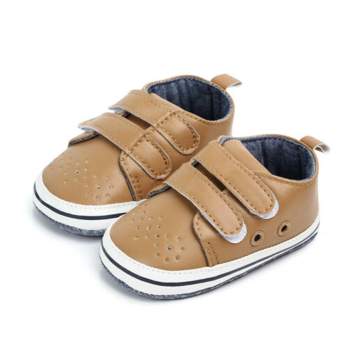 Infant Baby boy girl soft sole Crib Newborn Antidérapants Chaussures Sneaker 0-18 Mois