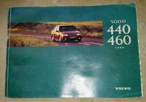 Manuel D'utilisation De Volvo 440/460 Allemand, Année Modèle 1996, Tp3823-itung Von Volvo 440 / 460 Deutsch, Modelljahr 1996, Tp3823 Fr-fr Afficher Le Titre D'origine Divers Styles