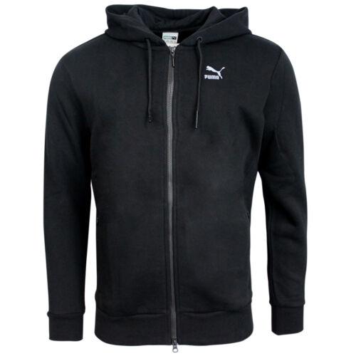 Puma Evo Mens Black Zip Up Training Hoody Hooded Track Top
