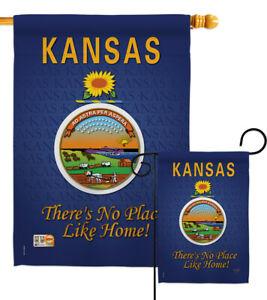 Kansas Garden Flag Regional States Small Decorative Gift Yard House Banner
