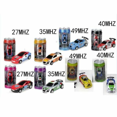 Coke Can Mini Speed RC Radio Remote Control Micro Racing Car Toy Gift S