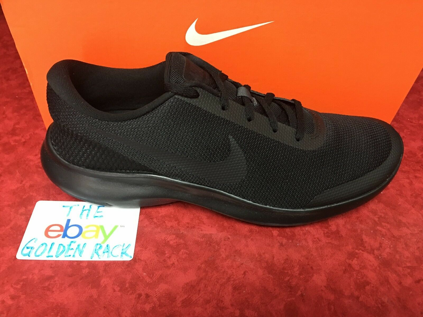 Nike Men's Flex Experience RN 7 Mens Running Shoes 908985 002 Black/Anthracite
