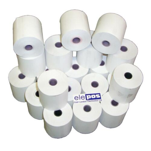 57x57 Thermal Thermal Rolls 57 x 57 x 12.7 20 Rolls 57mm x 57mm