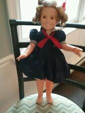 """1972 IDEAL  15"""" SHIRLEY TEMPLE DOLL Poor Little Rich Girl Dress"""