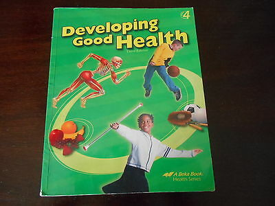 A Beka Developing Good Health  homeschooling 4th grade  textbook student