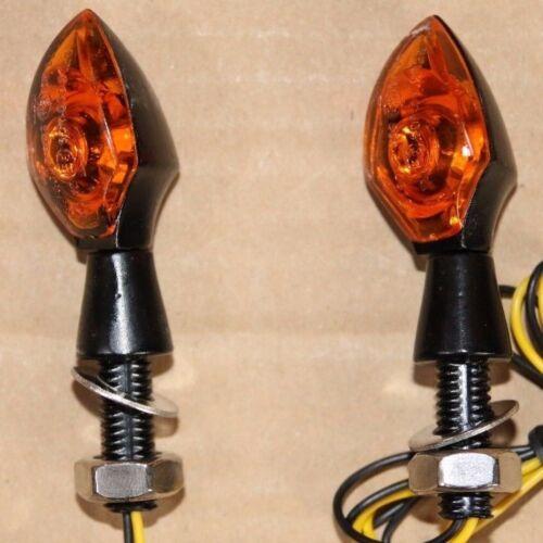 2 x DEL moto TURN SIGNAL Lights Indicators BMW R 80 ST R 1200 CL F 650 CS