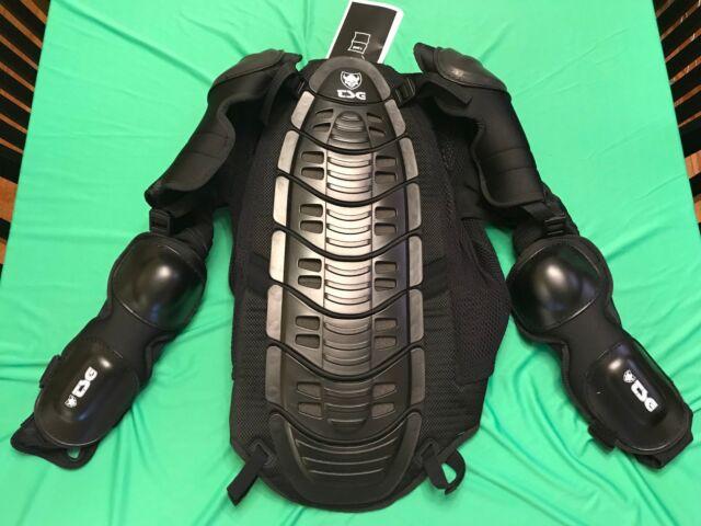 TSG Backbone Downhill Bike or Motorcycle Jacket Back Protector Size XL  Black NEW bd2a7b612
