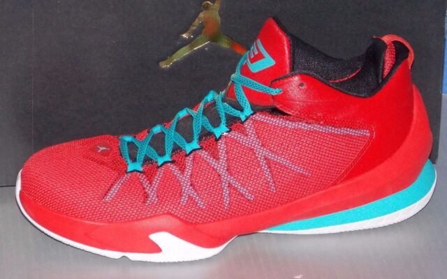 a48d4989b933 Nike Air Jordan Cp3 VIII AE Limited SNEAKERS White   Red   Blue 725173-107  10