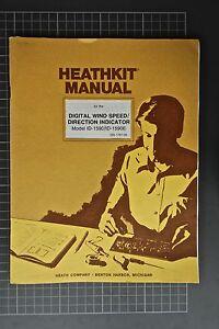 heathkit manual for digital wind speed direction indicator ebay rh ebay com heathkit manuals aa-1600 heathkit manuals aa-1600