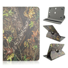 "For Fujitsu Stylistic 8"" inch Tablet Camo Tree Big Branch Case"