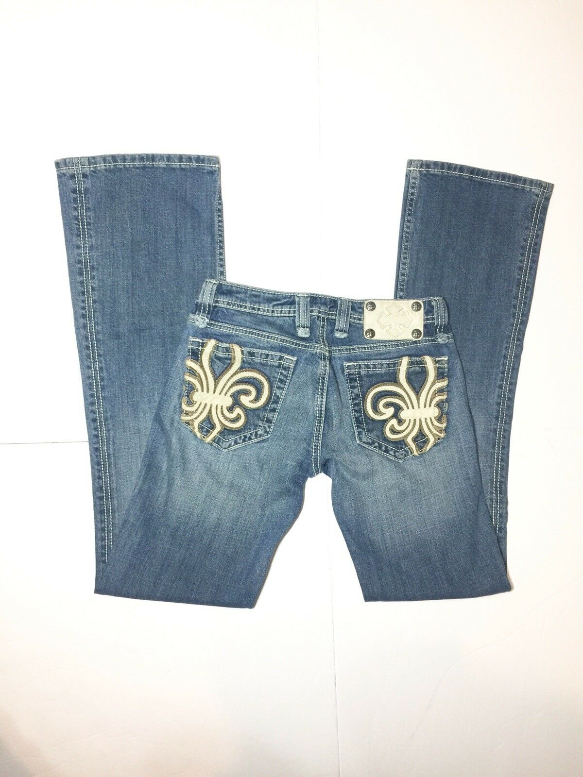 Miss Me Bootcut Jeans Womens Size 26 bluee - Inseam 32