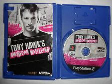 PLAYSTATION 2-Tony Hawk's American wastland. PAL