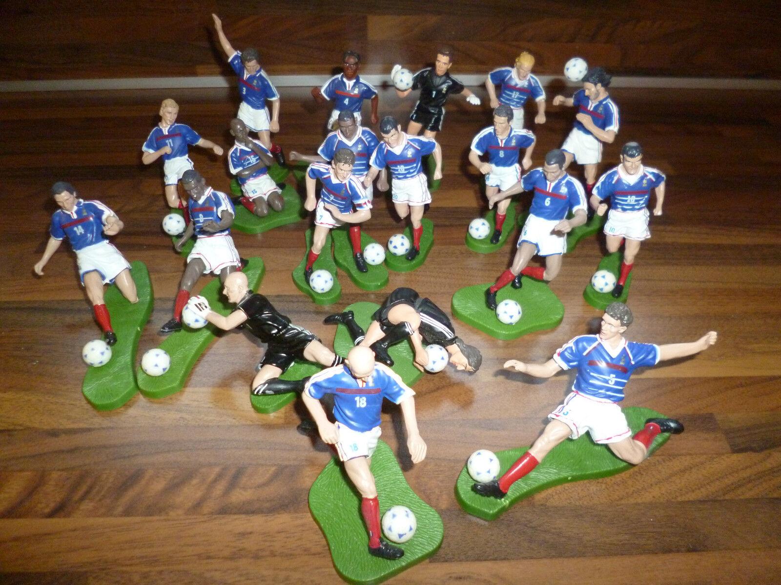 Rare world cup 1998 set of players lead zidane zizou