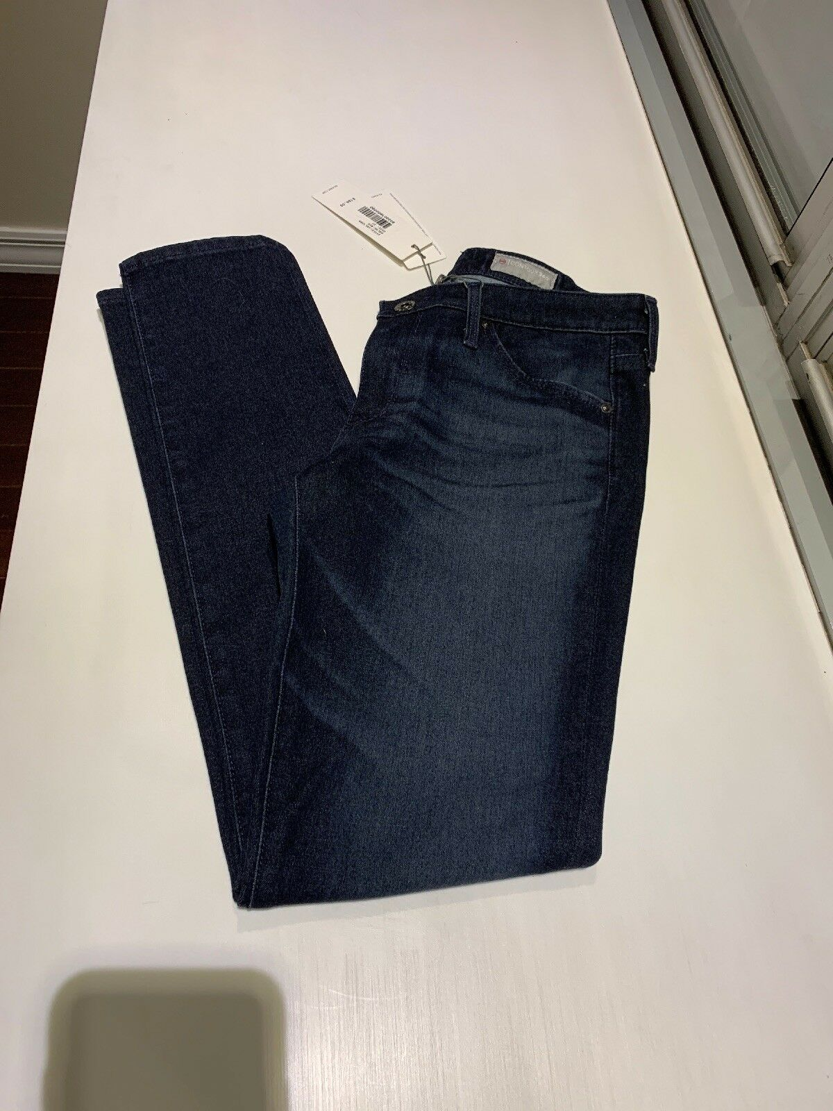 """NWT Women's AG Contour 360 """"The Legging Ankle"""" Super Skinny Ankle jeans, size 27"""