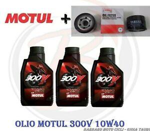 3-L-Oil-Motul-300V-10W40-Oil-Filter-Original-Tmax-500-from-2001-a-2011