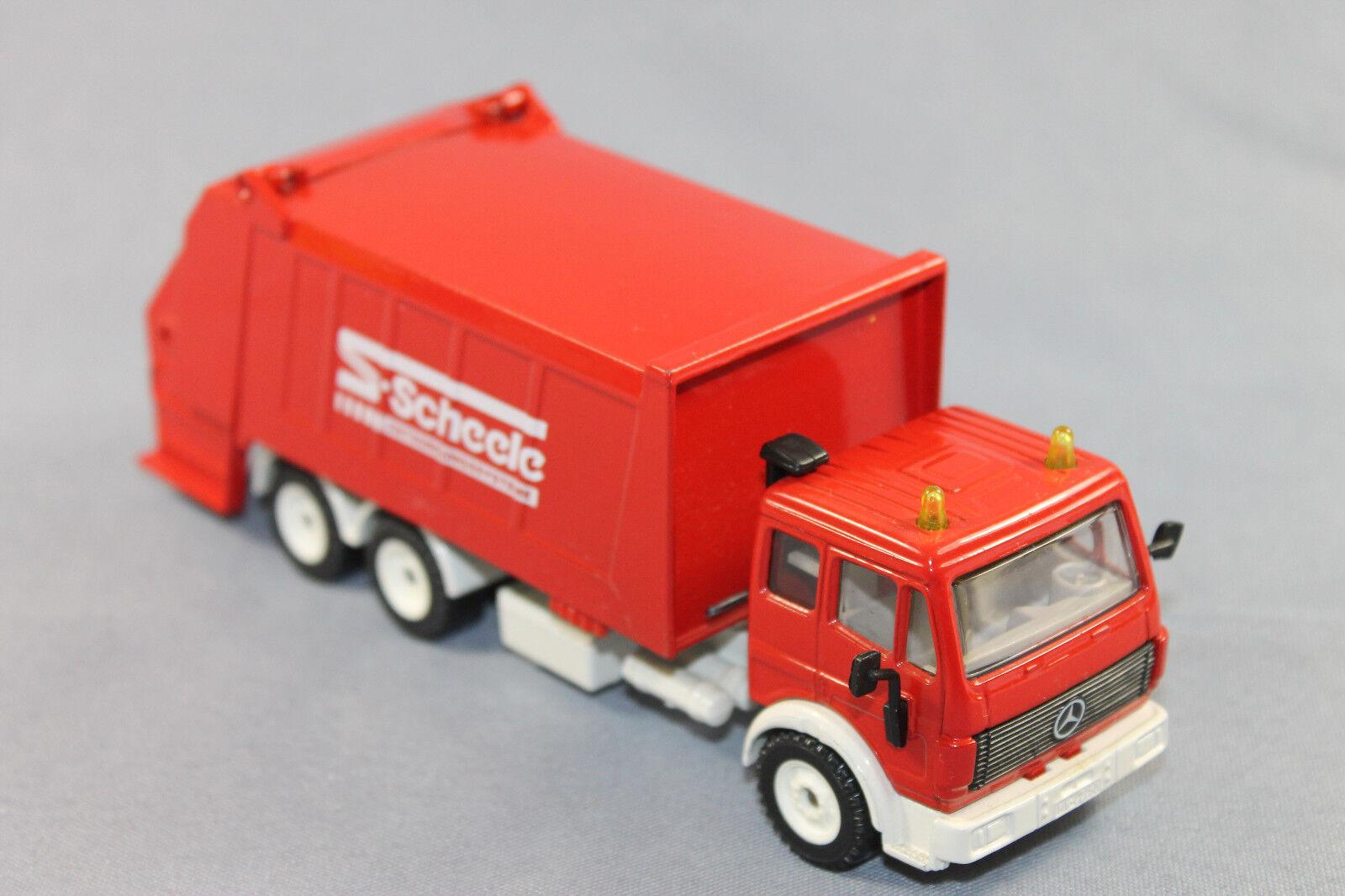 Siku 2926 Mercedes Benz Müllwagen Scheele Sondermodell Super-Serie Maßstab 1 55