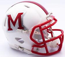 Miami Of Ohio Redhawks Riddell NCAA Replica Revolution SPEED Mini Helmet