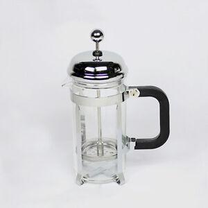 Glass Teapot Coffee Maker : 350ml Stainless Tea Glass Coffee Plunger French Press Espresso Maker Filter Pot eBay